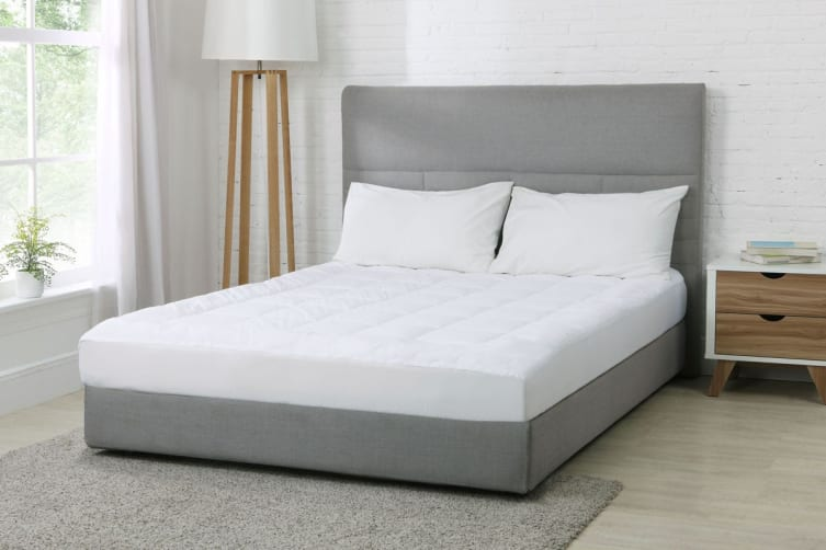 Trafalgar Bamboo Pillow Top Mattress Topper (King)