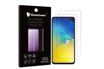 For Samsung Galaxy S10e 2-pack Tempered Glass Screen Protector iCoverLover