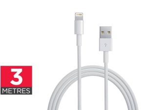 Apple MFI Certified Lightning to USB Cable (3m)