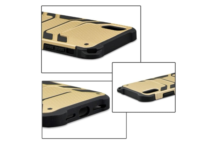 Shockproof Armour Protective Case For iPhone XR Gold