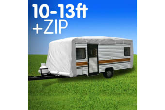 Caravan Cover with zip suits 10-13 ft