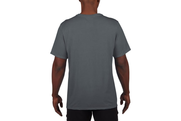 Gildan Mens Core Performance Sports Short Sleeve T-Shirt (Charcoal) (XL)