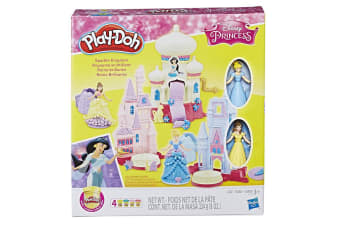 Play-Doh Sparkle Kingdom 3-in-1 Disney Princess Toy Castle