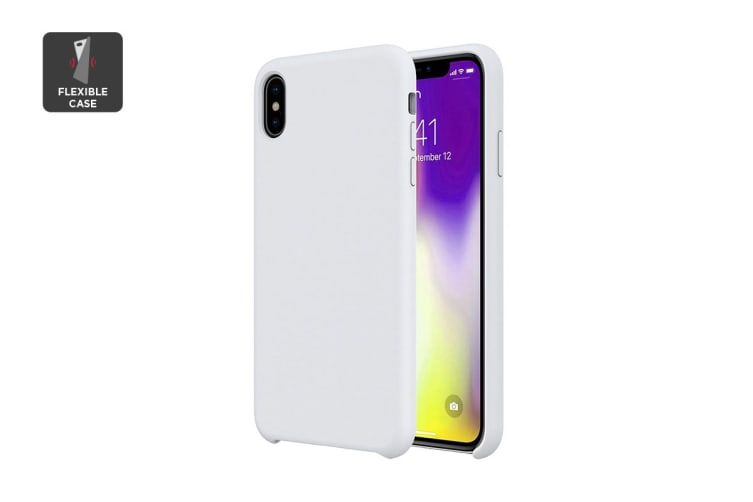 iPhone XS Silicone Case - White