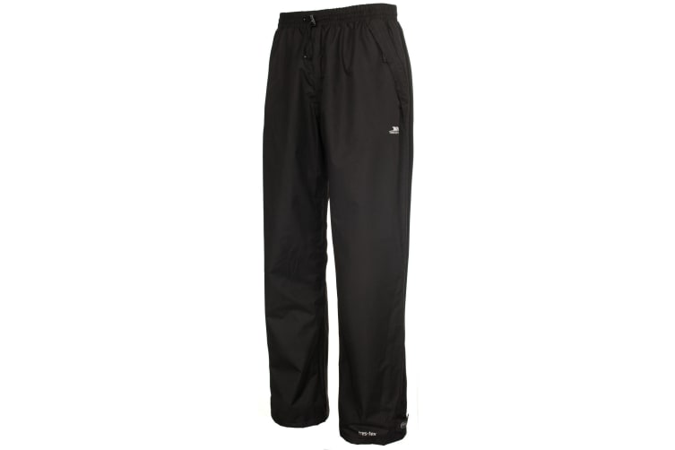 Trespass Mens Toliland Waterproof & Windproof Trousers (Black) (S)