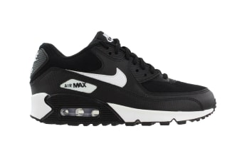 Nike Women's Air Max 90 Shoes (Black/White, Size 7 US)