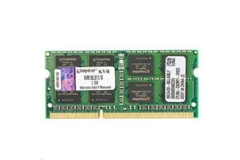 Kingston Laptop 8GB 1600MHz DDR3L Non-ECC CL11 SoDIMM 1.35V - 8 GB (1 x 8 GB) - DDR3 SDRAM - 1600