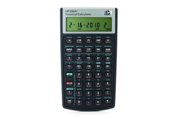 HP 10bII+ Financial Calculator with Calculator