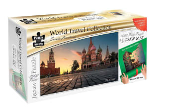 Scenic Locations - The Kremlin 1000 Piece Puzzle with Puzzle Mat