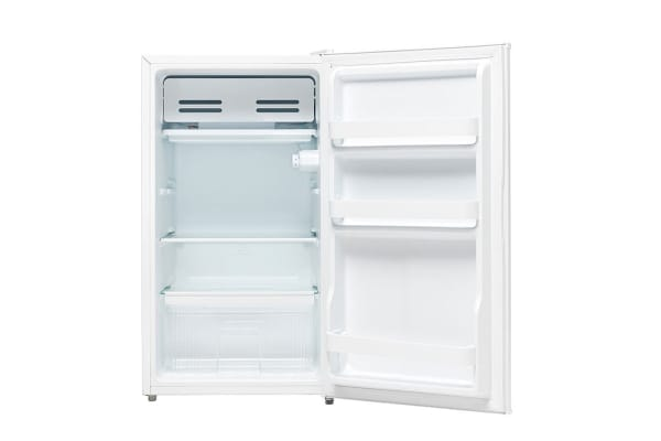 Esatto 112L Bar Fridge with Freezer Compartment and Crisper Drawer (EBF112W)
