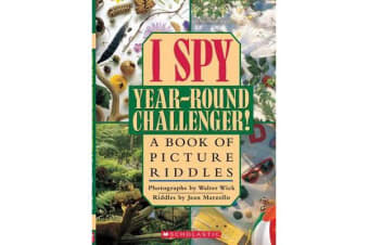 I Spy Year-round Challenger! - A Book of Picture Riddles