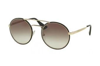 Prada PR51SS - Black Pale Gold (Grey Gradient lens) Womens Sunglasses