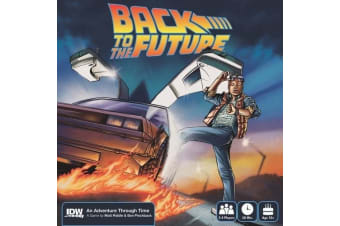 Back to the Future: An Adventure Through Time Board Game