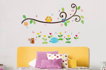 Bubbli Owl and Tree Wall Decal