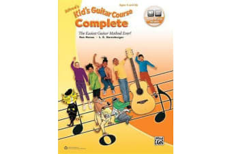 Alfred's Kid's Guitar Course Complete - The Easiest Guitar Method Ever!, Book & Online Video/Audio/Software