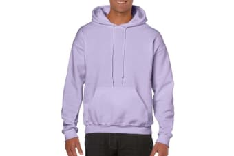 Gildan Heavy Blend Adult Unisex Hooded Sweatshirt / Hoodie (Orchid)