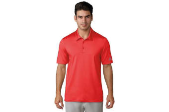 Adidas Mens Ultimate 365 Polo Shirt (High-Res Red)