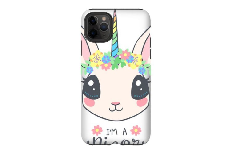 For iPhone 11 Pro Max Shielding Back Case  Bunnycorn