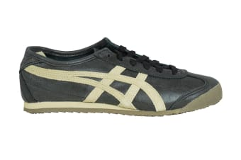 Onitsuka Tiger Mexico 66 Shoe (Black/Feather Grey, Size 7)