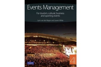 Event Management - for tourism, cultural business & sporting events