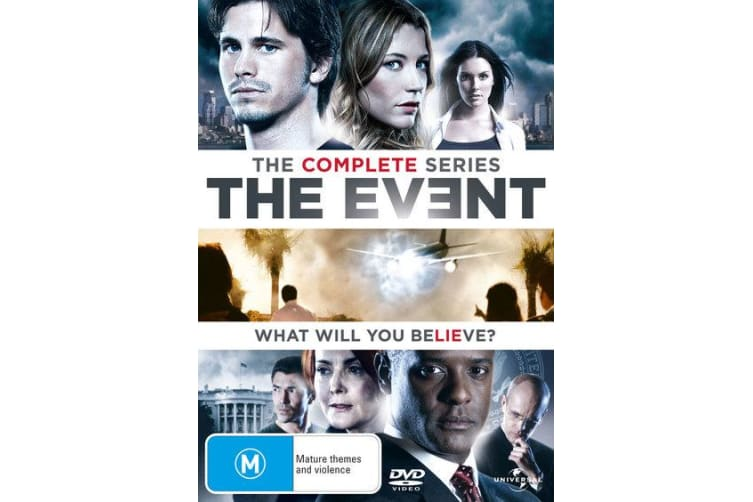 The Event The Complete Series DVD Region 4