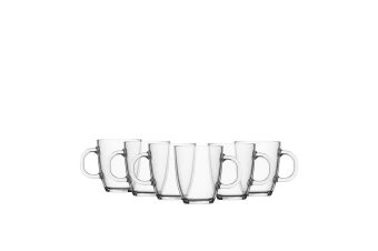 Bodum Bistro Coffee Mug 350ml Set of 6