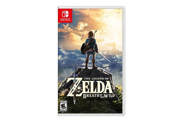 Nintendo Switch: The Legend of Zelda: Breath of the Wild Console Bundle - Grey