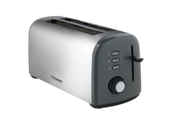 Westinghouse 4 Slice Long Slot Toaster - Pearl Grey
