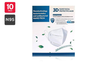 NANO-TECH N95 Particulate Respirator Mask KN95 FFP2 (10 Pack)