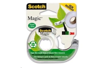3M Scotch Magic Tape 19mmx33m 3 Rolls Per Box