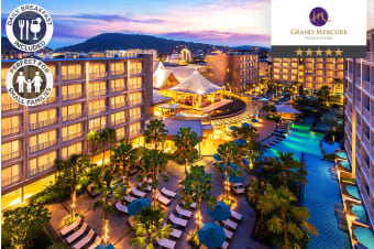 PHUKET: 2 or 5 Nights at Grand Mercure Phuket Patong for Two