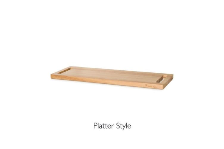 Stanley Rogers Rubberwood Multi Height Serving Board Medium 55 X 20cm