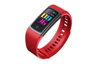 "TODO Bluetooth V4.0 Fitness Watch Band Heart Rate Blood Pressure Ip67 0.96"" Oled - Pink"