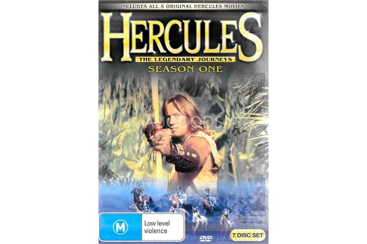 Herci;es Season One - Series Region 4 Rare- Aus Stock DVD PREOWNED: DISC LIKE NEW