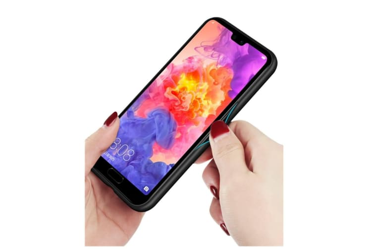 Ultra Thin Tpu Colorful Gradient Tempered Glass Protection For Huawei - No.6 Honor10