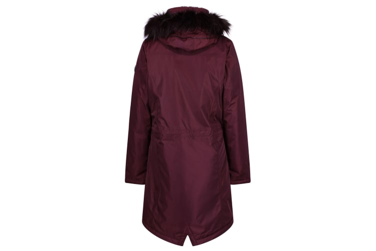 Regatta Womens/Ladies Lexia Long Length Waterproof Parka Jacket (Prune) (18 UK)