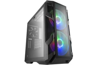 Cooler Master MasterCase H500M Mid-Tower ATX Case Four Tempered Glass Panels