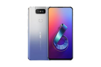 New ASUS Zenfone 6 Dual ZS630KL 256GB Silver 8GB RAM 4G LTE Smartphone Silver (FREE DELIVERY + 1 YEAR AU WARRANTY)