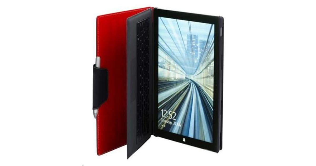 NVS Surface Pro 4 Folio Stand - Red | Tablet Accessories |