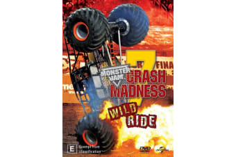 Monster Jam Crash Madness Wild Ride DVD Region 4