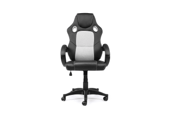 Ergolux RX7 Gaming Office Chair (Grey, Racing Series)