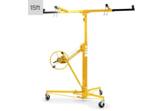15ft Plaster Drywall Board Sheet Panel Hoist Lifter