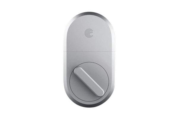 August Bluetooth Smart Lock (Silver, 3nd Generation)