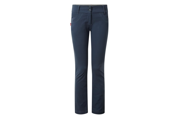 Craghoppers NosiLife Womens/Ladies Clara Outdoor Trousers (Soft Navy) (12L)