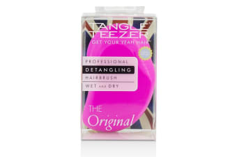Tangle Teezer The Original Detangling Hair Brush - # Pink Rebel (For Wet & Dry Hair) 1pc