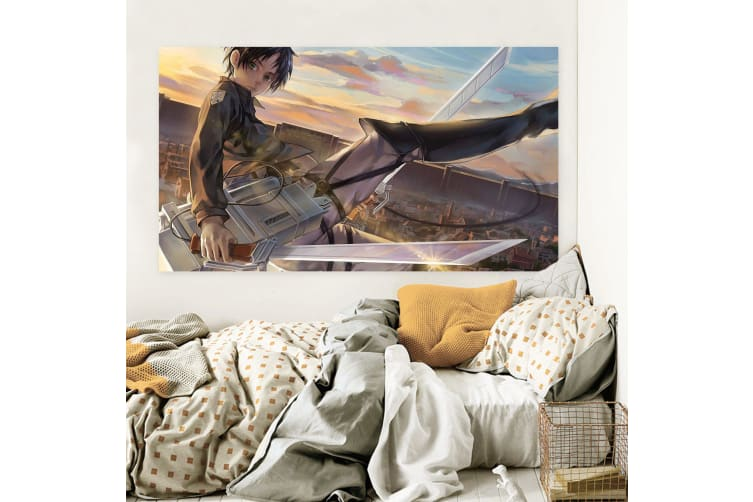 3D Attack On Titan 910 Anime Wall Stickers Self-adhesive Vinyl, 50cm x 30cm(19.7'' x 11.8'') (WxH)