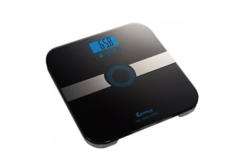 Sansai Black Multi function Weight Measure Body Fat Scale Over load indication