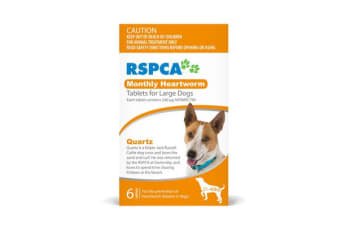 RSPCA Heartworm Tablets for Large Dogs