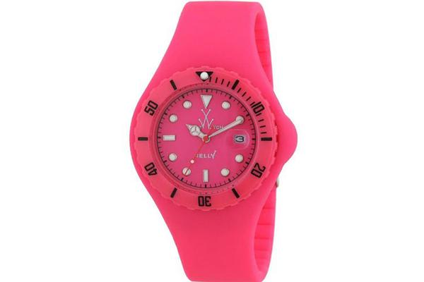 Toy Watch Orange Dial Rubber Strap Unisex Watch JY04PS (JY04PS)