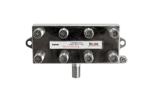 Doss 8 Way 'F' Splitter Free To Air